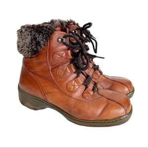 Blondo Canada Lace Up Ankle Boots Winter 9.5